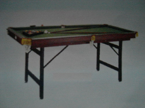 meja billiard lipat 6 ft besar