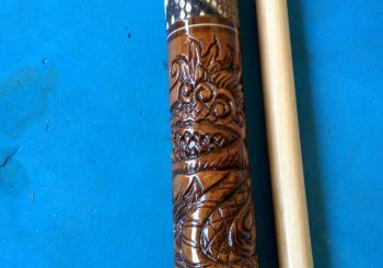 Stik Cue Billiard Forza Special Edition Ukiran Naga Dragon Carving
