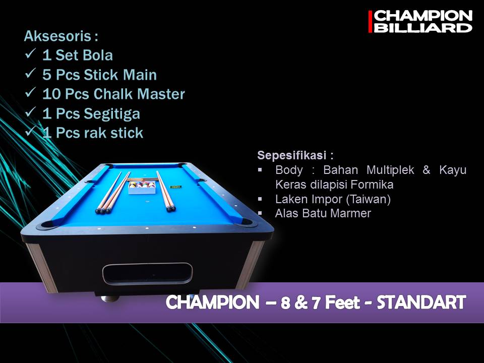 Champion 7-8 ft Standard