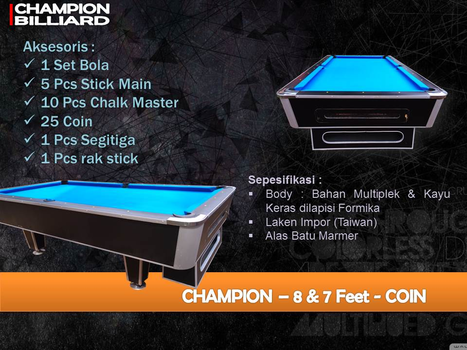 Champion 7-8ft Coin