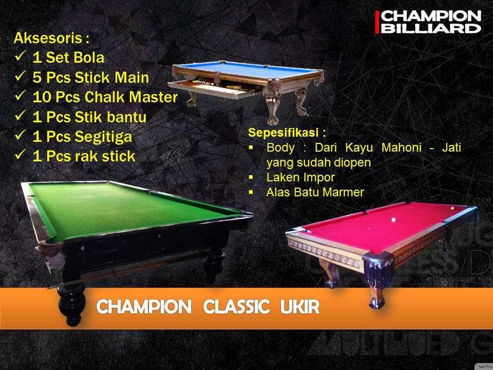 Champion Classic Ukir