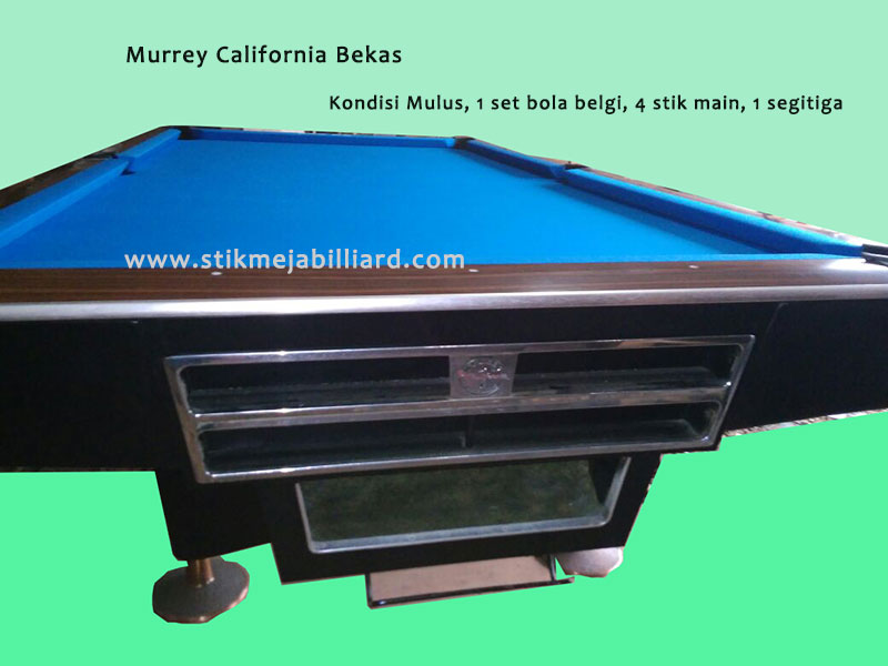 murrey-california-1-second bekas siap pakai