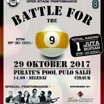 turnamen-billiard Serpong Garden Oktober-2017