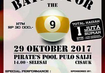 Turnament Billiard Serpong Garden Cisauk Serpong