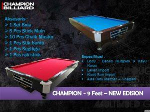 Champion 9 ft New Edition