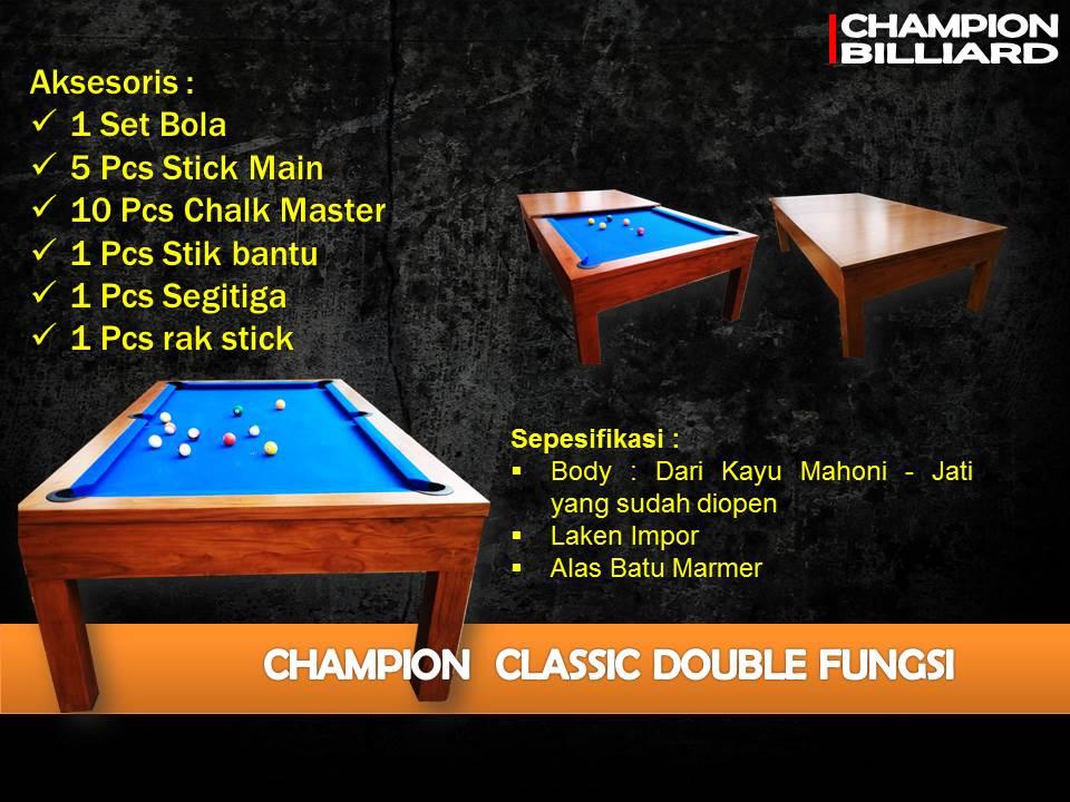 Champion Classic Multi Fungsi