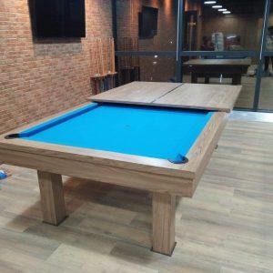 Meja Billiard 3 fungsi makan pingpong billiard