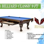 Minnova-Meja-Billiard-Classic-Kayu-Solid-9-ft