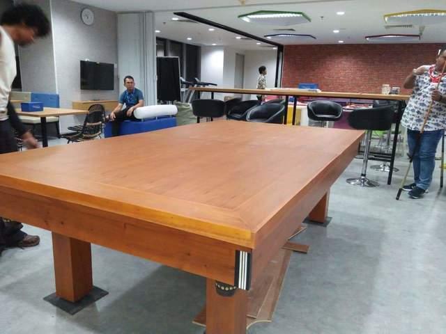 Meja-Multifungsi-Lapis-HPL meja makan meeting pingpong