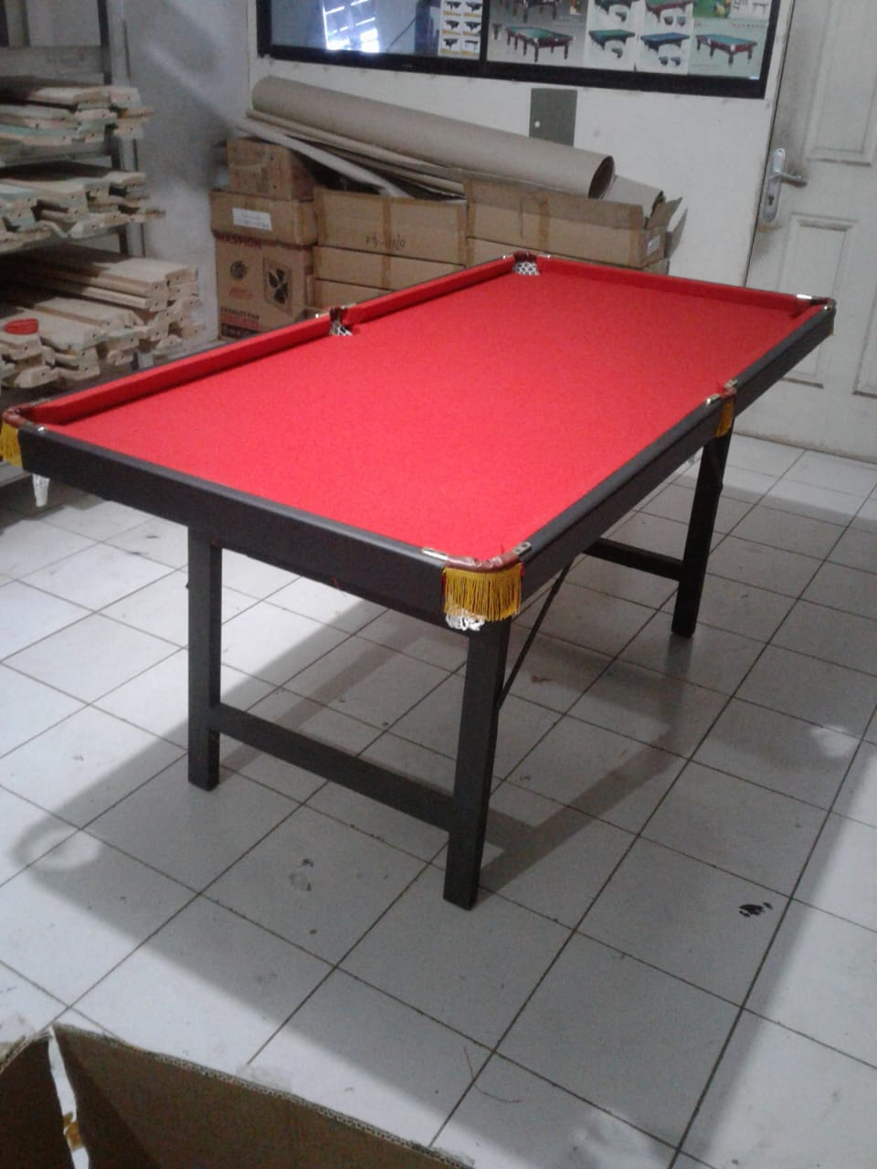 Meja Billiard Lipat 6 ft