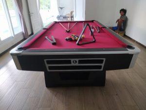 meja billiard minnova kaki lengkung model classic