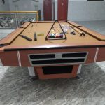 Meja Billiard Full Chocolate Minnova